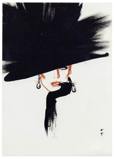 Rene Graua 3 FABULOUS FASHION ILLUSTRATORS RENE GRUAU