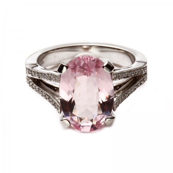 Herbert Brown Diamond and pink morganite ring 2640 00 3 600x600 Valentines Day Gifts To Thrill!