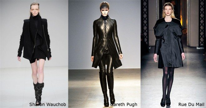 SOLID TOTAL BALCK copia 660x348 Autumn Winter 2010 Trends at Paris Fashion Week