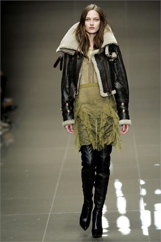 Burberry Prorsum AW 2010 Shearling Autumn Winter 2010 : Fashion Trends :What to Buy Now