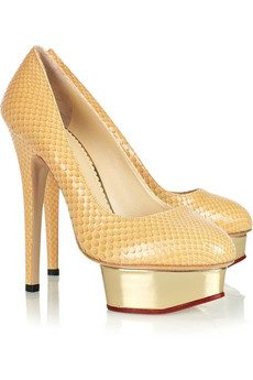 Charlotte Olympia Pumps Designer Platform Shoes : Fabulous or Fashion Victim Mode?