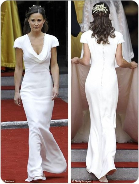 Pippa Middleton Dress Royal Wedding Pippa Middleton Dress