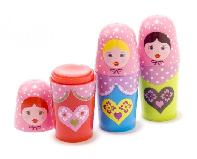 Russian dolls lip balm 8 660x534 Summer Beauty