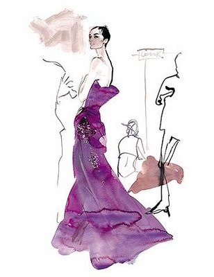 David Downton5 David Downton : Fabulous Fashion Illustrations