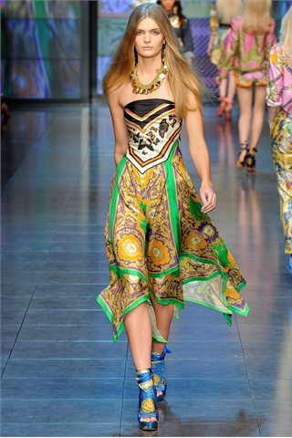 DG spring summer 2012 Prada: D&G: Etro:Versace: Antonio Marrass: Milan Fashion Week