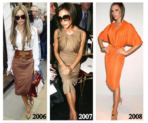 Victoria Beckham A Style Evolution Gabrielle Teare Best Personal Stylist