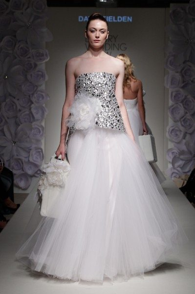 David Fielden viii 399x600 Wedding Style  Designer Wedding Dresses
