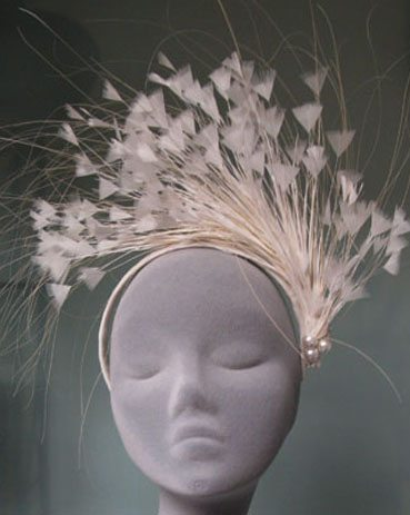Jane Taylor Millinery Wedding Style  Designer Wedding Dresses