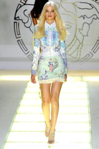 versace cral 1 Siren Song : Spring Summer 2012 Trends