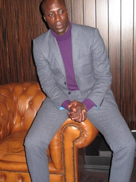 Oswald Boatang 450x600 Mens Style : Oswald Boateng The Savile Row Suit