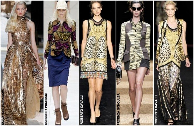 catwalk animal print 660x428 Spring Summer Trends Animal Print Rocks