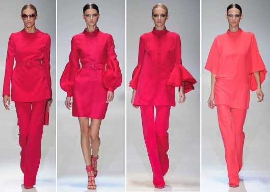 Gucci ss 2013 hot pink Hot Pink : Stylist Favourite Spring Trends 2013