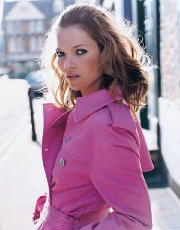 Kate moss5 e1363051819470 Hot Pink : Stylist Favourite Spring Trends 2013