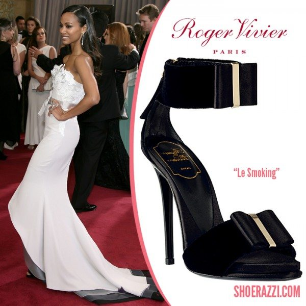 Roger Vivier Le Smoking Sandal Zoe Saldana e1363220881272 Roger Vivier   Shoes to lust after