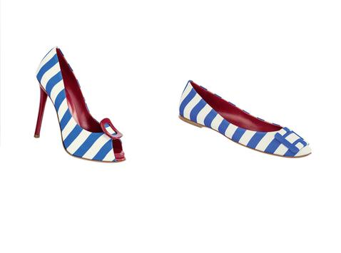 Roger Vivier Sailor Style for Spring Summer 2013 1 Roger Vivier   Shoes to lust after