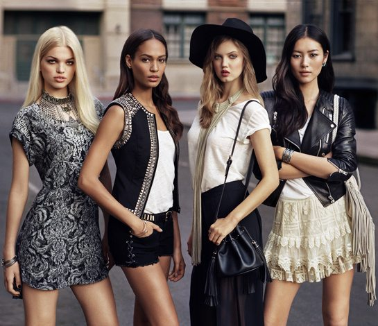 H&M top models styles inspire new collections