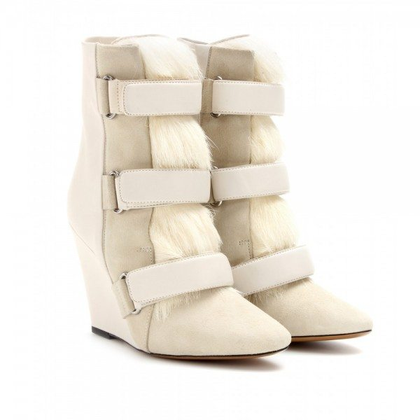 Isabel Marant-Pierce-leather-and-fur-wedge-boots--STANDARD