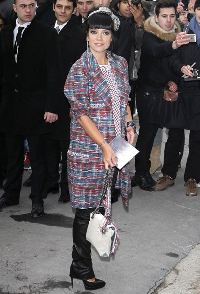 lily-allen_chanel front row