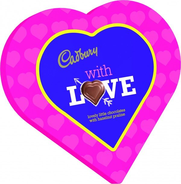 634471 Say It With Cadbury Large Heart 12 Transit