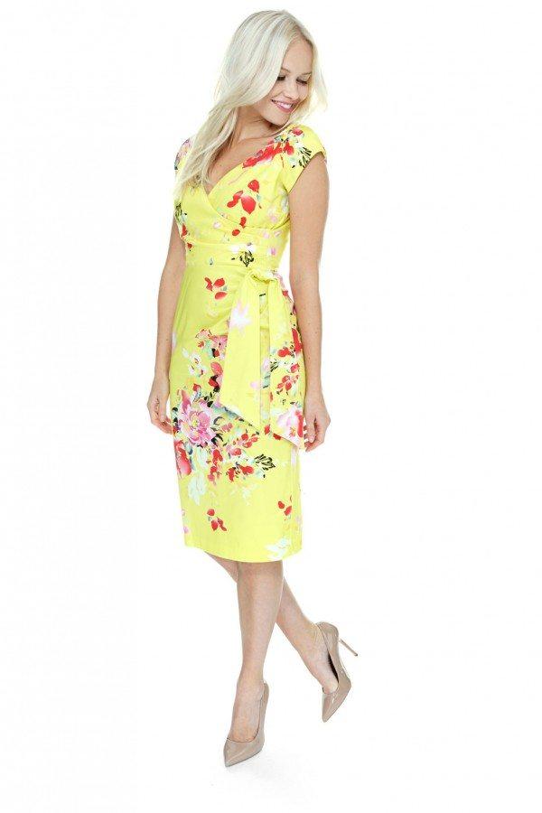 Yellow summer dress uk