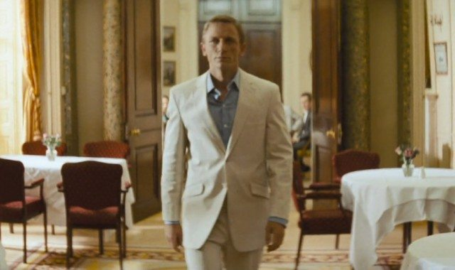 Daniel Craig Linen Suit James Bond Suits